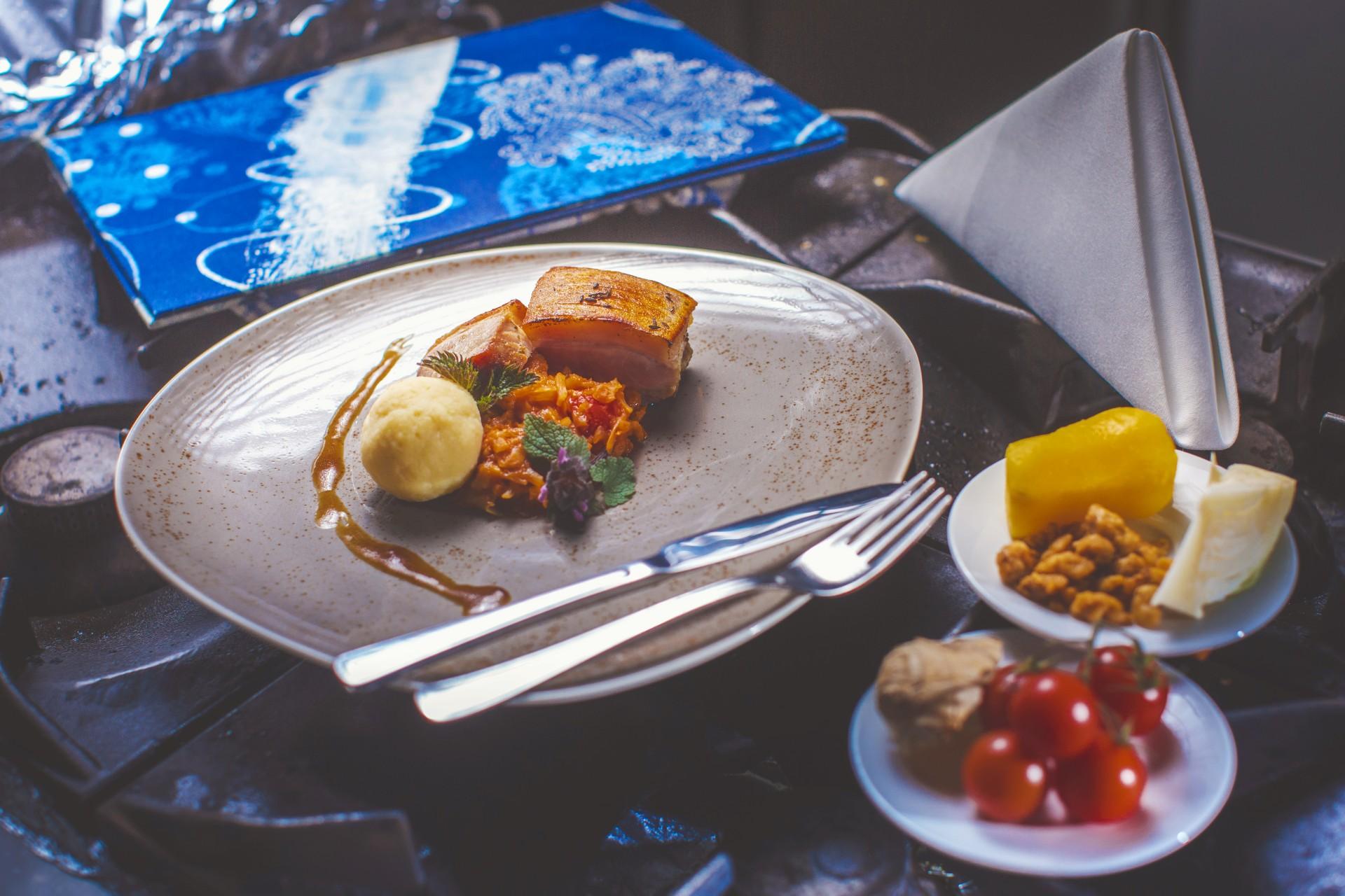 Speisen-Abholservice